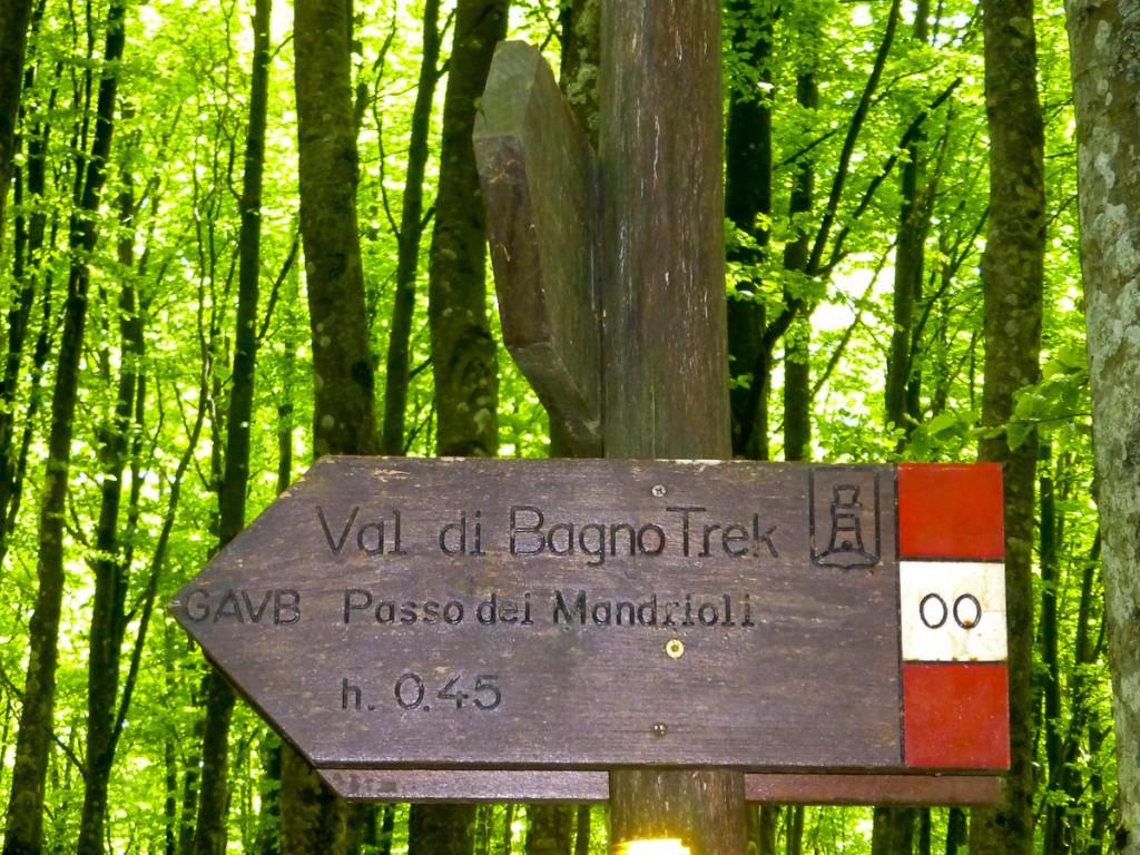 Trilha numerada Parque Nacional Foreste e Casentinese